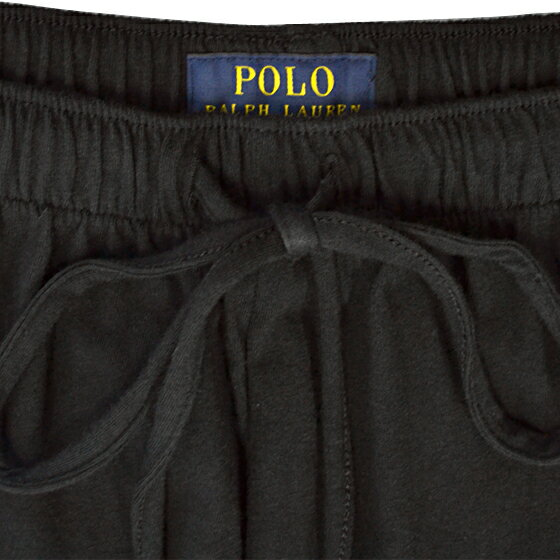 POLO RALPH LAUREN ポロ ラルフローレン メンズ ポロプレイヤー  リラックスフィット コットン ルームパンツ 3色展開[黒 紺 グレー][S/M/L/XL][ポロ・ラルフローレン ラルフローレン パンツ 部屋着 ルームウェア][5,400円以上で][L163]大きいサイズ ブランド