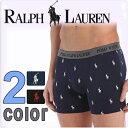 POLO RALPH LAUREN ポロ ラルフローレン ボクサーパンツ ストレッチ ボクサーパンツ ポロプレイヤープリント(2色展開)[S/M/L/XL][ポロ・ラルフローレン ボクサーパンツ インナー ルームウェア ルームウエア ブリーフ 下着]
