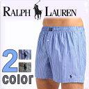 POLO RALPH LAUREN ポロ ラルフローレン ボクサーパンツ メンズ クラシックフィット 2色展開 ウーブン ボクサーズ トランクス[青 黒][S/M/L/XL][ポロ・ラルフローレン ラルフローレン ブリーフ][5,400円以上で送料無料]大きいサイズ ブランド