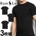 POLO RALPH LAUREN ポロ ラルフローレン tシャツ メンズ クルーネック 3枚セット ラルフローレン Tシャツ ラルフtシャツ [RCCNP3 /LCCN]