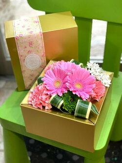 花フラワーボックス送料無料ギフトMサイズプレゼントフラワーアレンジメント誕生日御祝アレンジボックスフラワーギフト贈り物プレゼントお祝いバレンタインホワイトデー母の日卒業祝バレンタインデー