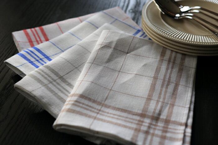 Linen Shop CALIENTE  라쿠텐 일본: 래티스 주방 대 마 리넨 타월 빨강 ...