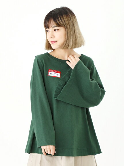 トップス, Tシャツ・カットソー MILKFED.()NAME TAG TOP