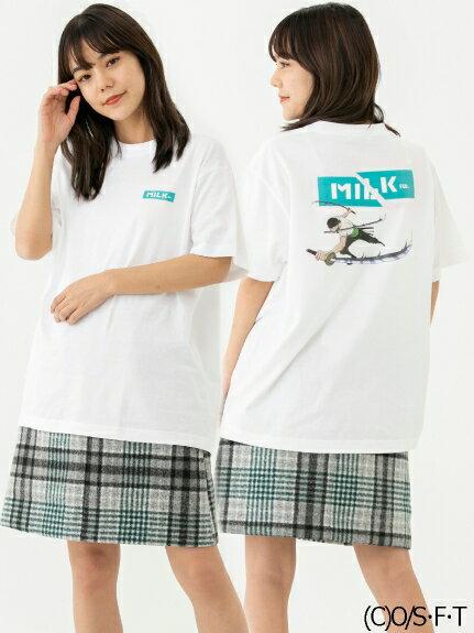 トップス, Tシャツ・カットソー MILKFED.()MILKFED.XONE PIECE SS TEE ZORO