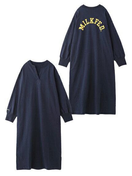 レディースファッション, ワンピース MILKFED.()HENRY NECK DRESS