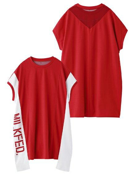 トップス, Tシャツ・カットソー MILKFED.()VERTICAL LOGO TOP