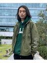 【公式】SILAS サイラス REFLECTOR LOGO JACKET ジャケット ブルゾン メンズ アウター ロゴ