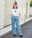 【公式】X-girl エックスガール #1 SKATER DENIM FLIGHT PANTS パンツ デニム ロングパンツ フライトパンツ...