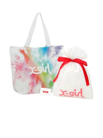 X-girl(エックスガール)X-GIRL 25TH GIFT BAG SET CALIF(M)