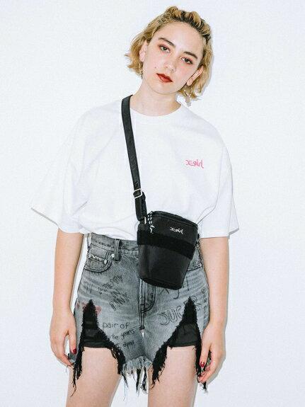 レディースバッグ, ショルダーバッグ・メッセンジャーバッグ X-girl()MILITARY CAMERA BAG