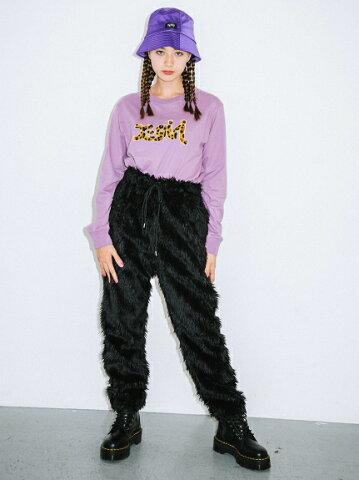 X-girl(エックスガール)FUR JOGGER PANTS