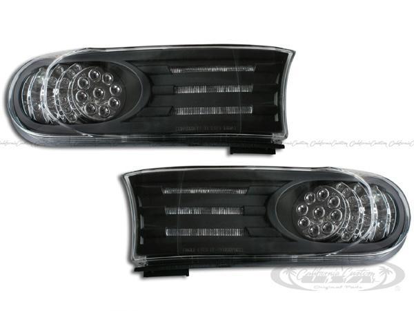 2007y- トヨタ FJクルーザー LEDパークシグナル(ブラック)
