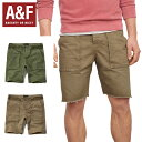 Abercrombie Mens A&F UTILITY SHORTS...