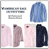 アメリカンイーグル(アメリカン・イーグル)American Eagle Outfitters/メンズ/正規 カジュアルシャツ オックスフォードボタンダウン長袖シャツ7色 AE OXFORD BUTTON-DOWN 【通販】【あす楽対応】
