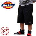 【ワケアリ】【Dickies】ディッキーズワークパンツLoose Fit Multi-Use Pocket Work Shorts #42283 短パン ハーフパンツ アメカジ 半ズボン チノパン バンズ 横山 健スタイル