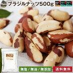 [送料無料]ブラジルナッツ 500g アマゾンのスーパーナッツ 産地直輸入 海外では有名な栄養価の高いナッツ 便利なチャク付き袋 追跡可能 工場直販 非常食 常備食