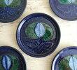 【送料無料】スウェーデンNittsjoきれいなネイビーのプレート19cm北欧食器お皿磁器北欧ヴィンテージアンティーク_200819