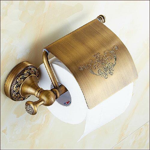 ペーパーホルダー アンティーク アイアン ゴールド トイレ おしゃれ 真鍮 トイレットペーパーホルダー トイレペーパーホルダー ペーパーホルダー カバー ロールペーパーホルダー レトロ