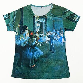 Edgar Degas dance Department carefully selected ladies T shirt-series