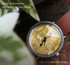 メンズ腕時計 アンティーク日本製アンティーク風に魅せる手作り腕時計【職人手作り★アンティー...