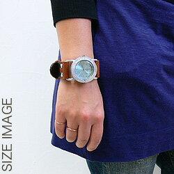 【職人手作り★アンティーク風腕時計】アルミベゼルで優しい美しさの腕時計★Jouet.★日本製・大阪の工房から発信♪[レディース&メンズ]【送料無料】[S-M-JFB-05]
