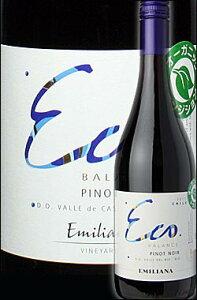 ◆ 750ml 《エコバランス》 ピノノワール ビオビオ・ヴァレー [2012] Eco Balance (by Emiliana Vineyards) Pinot Noir Vally Del Bio Bio (by エミリアーナ・ヴィンヤーズ チリワイン ミディアムボディ赤)【楽ギフ_包装】