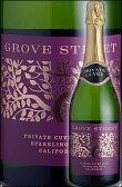 《グローブストリート》 プライベート・キュヴェ スパークリングワイン カリフォルニア[NV] Grove Street Private Cuvee Sparkling Wine California グローヴストリート 750ml [白ワイン(白泡) カリフォルニアワイン]