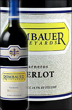 《ロンバウアー》 メルロー ナパ・ヴァレー カーネロス [2012] Rombauer Vineyards Merlot Carneros, Napa Valley 750ml [ランバウアー ナパバレー赤ワイン カリフォルニアワイン]