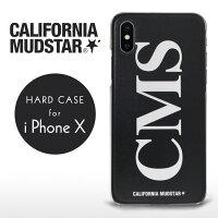 【売り切り特価!】キャルウイングオリジナルx CALIFORNIAMUDSTAR/カリフォルニアマッドスター コラボ アイフォンケース スマホケース 携帯ケース Oタイプ iPhoneX ハードケース