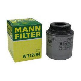 フォルクスワーゲン アウディ オイルエレメント オイルフィルター MANN FILTER W712/94