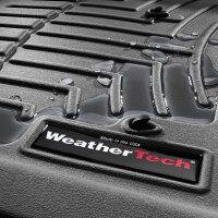 アウディQ7フロアライナーセットウェザーテック/WeatherTechブラック3PC'10y〜'15yセンターコンソール付車
