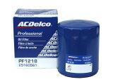 オイルエレメント オイルフィルター ACDelco ACデルコ PF1218