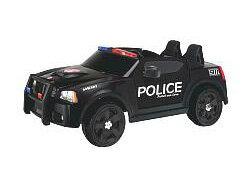 電動乗用 チャージャーポリスカー SWAT仕様 ブラック 12V