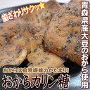 【はとや製菓のおからカリン糖】青森県産無農薬栽培大豆100%使用!黒ゴマたっぷり、食物繊維たっぷりのかりんとうです。[※常温便][※当店他商品との同梱可] P25Jan15 - かめあし商店