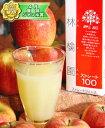 ストレートリンゴジュース【林檎園】 1000g×6本セット
