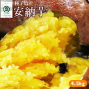 〈送料無料〉種子島産 【安納芋 5kg】(大・中・小混合サイズ15?25本) 蜜芋 [※他商品との同梱不可][※常温便]