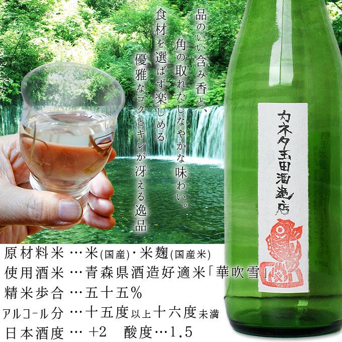 カネタ玉田酒造店『斬-ざん-純米吟醸肴ラベル』
