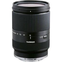 タムロン TAMRON 高倍率ズームレンズ 18-200mm F3.5-6.3 DiIII VC キヤノンEOS M用 EOS M専用 ブラック B011EM-BLACK