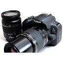 キヤノン Canon EOS Kiss X9 ダブルズームセット 美品 8GB 新品SDカード付き