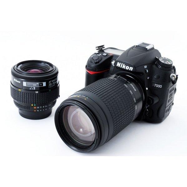 デジタルカメラ, デジタル一眼レフカメラ  Nikon D7000 8GBSD