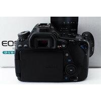 キヤノンCanonEOS80D単焦点&標準&望遠トリプルレンズセット美品新品SDカード8GB、元箱付き