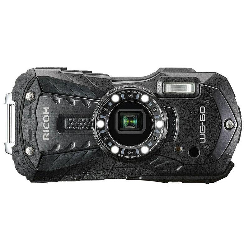 【4月22日20:00-26日1:59エントリー&楽天カード決済でポイント9倍!】リコー RICOH コンパクトデジタルカメラ WG-60 ブラック