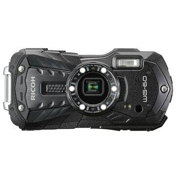 リコー RICOH コンパクトデジタルカメラ WG-60 ブラック