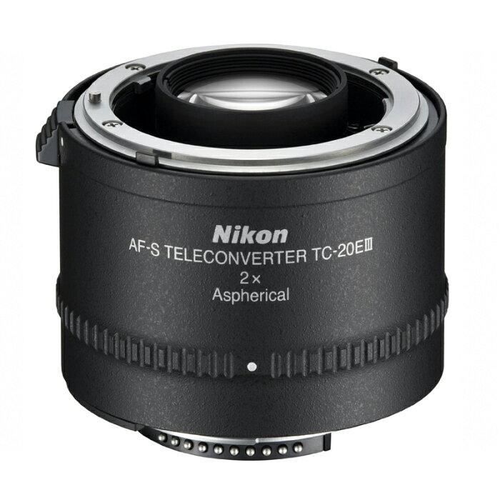 【10月25日24時間限定!Wエントリー&楽天カード決済でポイント最大13倍!】Nikon ニコン コンバージョンレンズ テレコンバーター AI AF-S TELECONVERTER TC-20E III