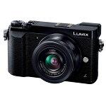 【期間限定!PCからエントリーでポイント10倍】PanasonicパナソニックLUMIXGX7MarkII標準ズームレンズキットブラック(DMC-GX7MK2KK)ミラーレス一眼カメラ