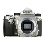 PENTAX ペンタックス デジタル一眼レフカメラ KP ボディ シルバー