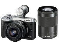 Canonキヤノンミラーレス一眼カメラEOSM6ダブルズームレンズEVFキット