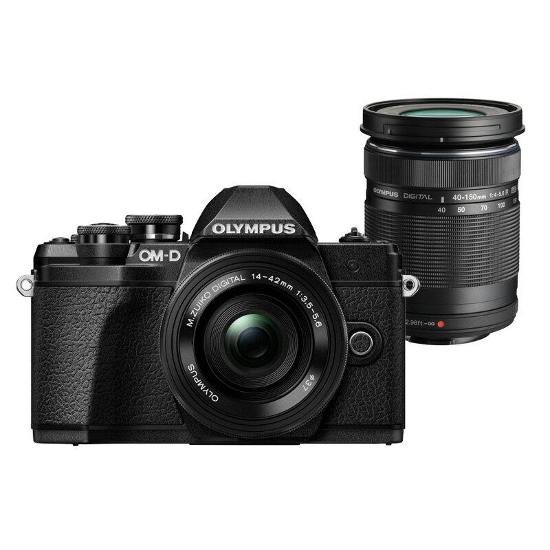 OLYMPUS オリンパス ミラーレス一眼カメラ OM-D E-M10 MarkIII EZダブルズームキット ブラック