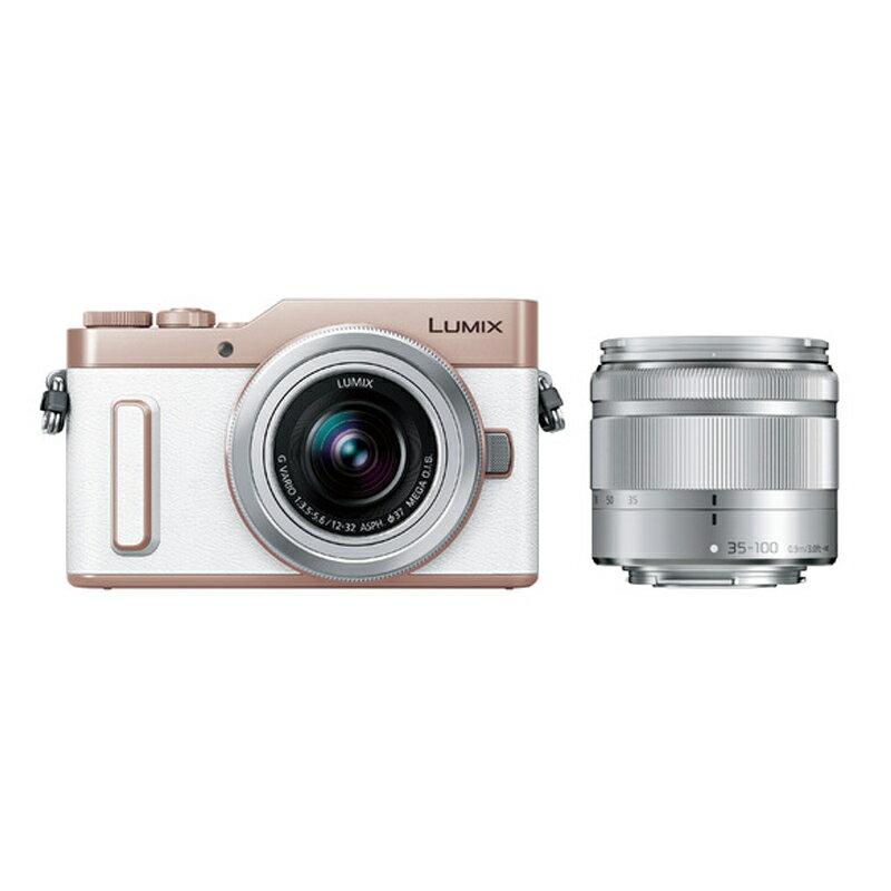 【12月4日20:00-12月11日1:59最大6,000円OFFクーポン発行中!】Panasonic LUMIX GF10 ダブルズームレンズキット ホワイト (DC-GF10WA-W) ミラーレス一眼カメラ