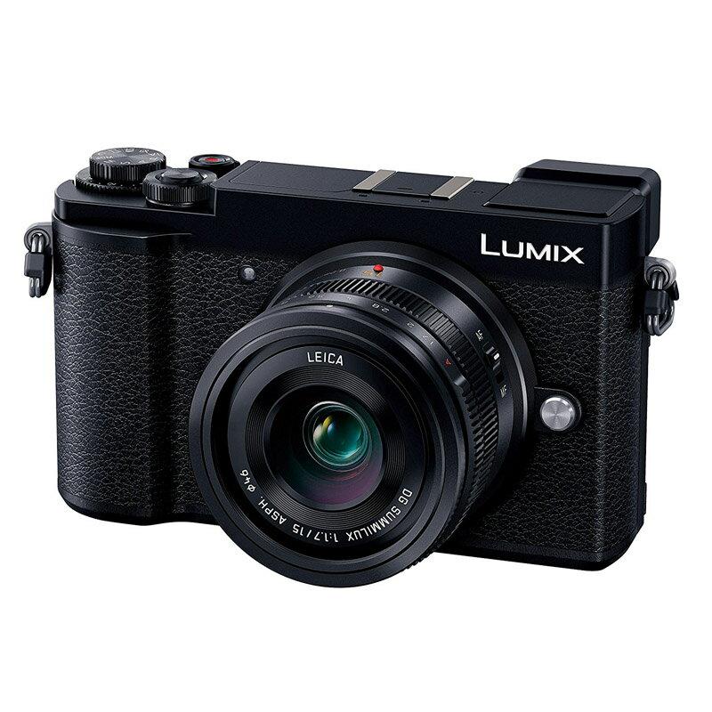 【4月22日20:00-26日1:59エントリー&楽天カード決済でポイント9倍!】Panasonic パナソニック LUMIX GX7 MarkIII 単焦点ライカDGレンズキット ブラック (DC-GX7MK3L-K) ミラーレス一眼カメラ